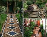 modern contemporary and traditional home and garden pathways