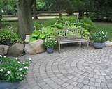 patio in a qiet shade garden 11 stunning shade garden design ideas