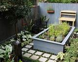 Contemporary Tropical Side Gardening Patio Landscape Ideas