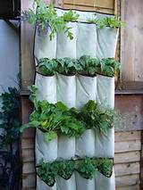 How to make vertical gardening? We can buy hanging containers and put ...