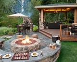 Outdoor Patio Pictures Ideas Feats Wonderful Stone Seat Design Ideas ...