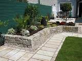 ideas landscaping design small yard stone patio design ideas