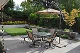 chairs provide a place to dine outdoors get more patio design ideas