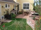 small patio backyard landscaping cascade gallery