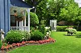 cheap garden ideas backyard landscaping garden design front yard side ...
