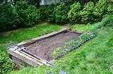 We built our railroad tie garden bed + and planted a vegetable garden ...