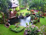 luxury backyard water features ideas with pergola landscape garden