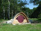 Exterior Architecture In Garden Best Hobbit Holes Playhouse For Kids ...