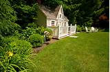 ... Cool Garden Playhouses For Backyard Design With Kids Playland Image