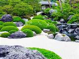 Backyard Japanese Garden Ideas With Green Plants