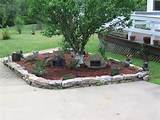 landscaping ideas large gardens – natural rock landscaping around a ...