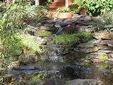 ... Backyard Garden Pond Design Ideas With Waterfall Natural Stone Ideas