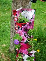 container gardening picture of watering flower bag