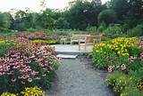 Wild Flower Perennial Garden with Blue Stone Patio in Rockland County ...