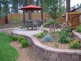ideas outdoor backyard landscape designs backyard flower garden