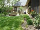 garden picturesque wood garden seating with exotic green garden