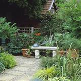 Garden with small courtyard | Garden design | Decorating ideas | Image ...
