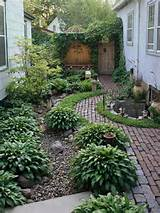 garden design, Home Garden Design Ideas For Small Yard: Contemporary ...