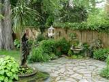 gardens come in small packages, like this Buffalo Garden Walk garden ...