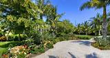 Tropical Florida Landscaping On Longboat Key