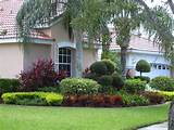 weston front yard landscaping
