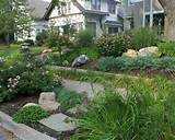 ... Landscaping Ideas With Planting And Pavers Also Sidewalk Cute Garden