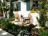 landscape design ideas garden porch