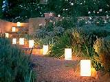 Decoration, Landscape Garden Decorating Ideas: Lighten Your House With ...