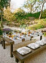 25 Gorgeous And Simple Garden Decor Ideas With Luxury Dining Table ...