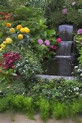 homemade garden waterfalls