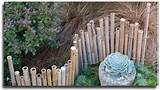 bamboo edging one of many ideas from handmade garden projects photo