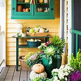 ... garden front porch decor ideas Fall Porch Ideas: 5 Ways to Add Fall