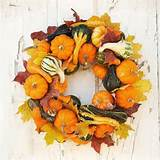 Autumn Wreath (Fall decorating ideas with Better Homes & Gardens)