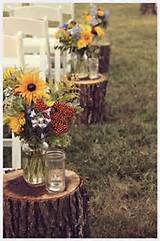 Country Wedding Ideas in the Garden