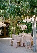 beautiful garden wedding decoration ideas romantic wedding chandeliers