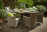 garden furniture product hartman bentley 6 seat round set