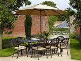 Garden Furniture product - Hartman Amalfi Rectangular Set 2014