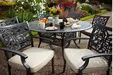 hartman amalfi bistro set with ice bucket metal garden furniture
