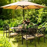 Hartman Amalfi Oval 6 Chair Garden Furniture Set