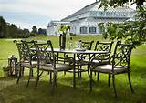 hartman kew oval set metal garden furniture