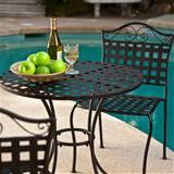 16 wrought iron garden furniture