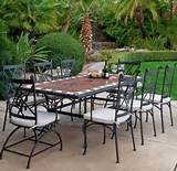 wrought iron patio furniture is the work of the has many benefits and