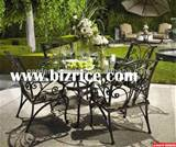 Wrought Iron Garden Furniture / Iron Bench Design / China Metal Chairs ...