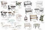 Wrought Iron and Outdoor Furniture