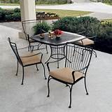 Buying Wrought Iron Garden Furniture