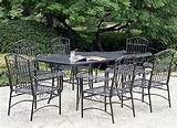 patio furniture wrought iron for garden
