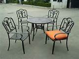 wrought iron outdoor furniture an ancient strength for your outdoor