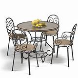 choose wrought iron furniture to decorate your home