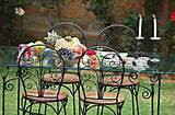 wrought iron garden furniture3