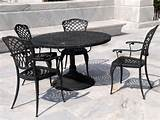 classic wrought iron patio furniture